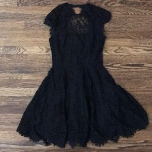BB Dakota Black Lace Dress sz0